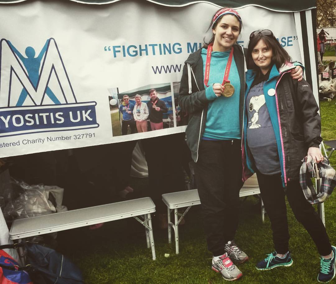 Run the London Marathon for Myositis UK